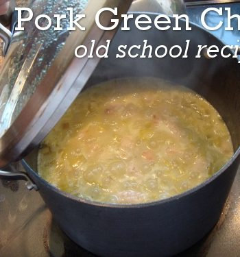 Mama's Green Chile Recipe