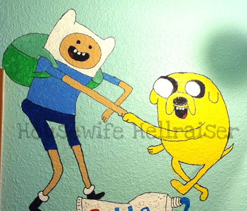 Finn-and-Jake-Mural
