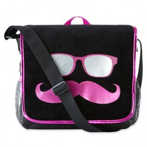 I Love Mustaches Messenger Bag