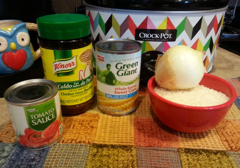 spanish-rice-ingredients