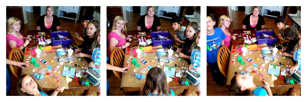 sculpey-clay-family-table