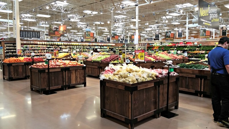 King Soopers Marketplace on east Smoky Hill Road in Aurora, CO