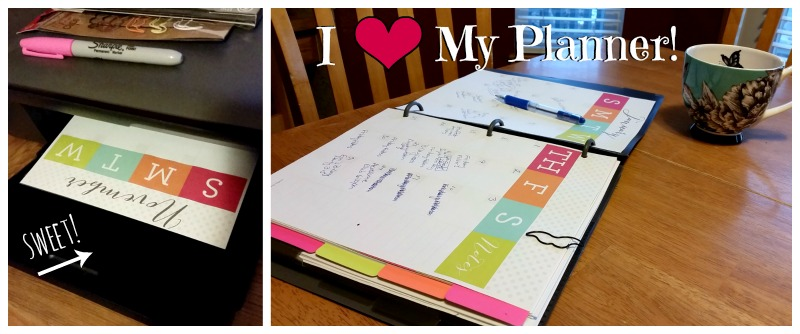 Custom Printable Planner