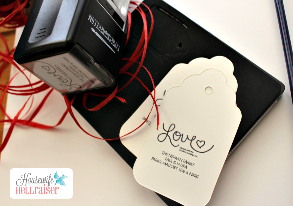 expressionery ellison sizzix tags