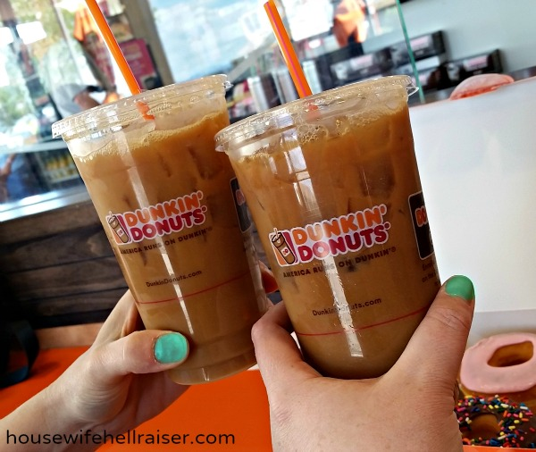 cheers to dunkin