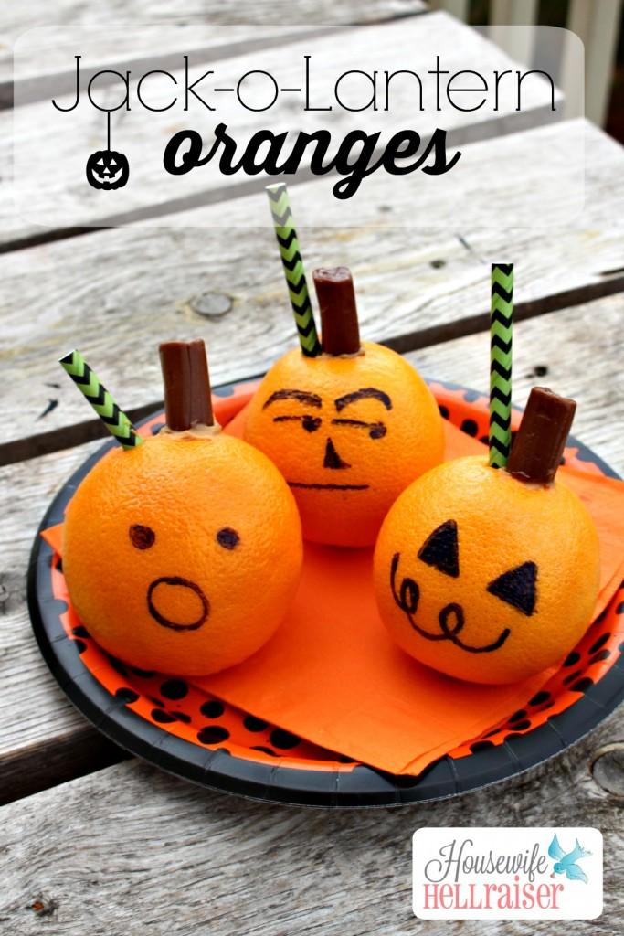 Jack-O-Lantern Pumpkin Oranges