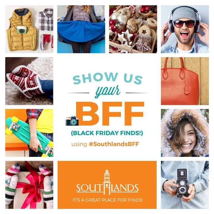 Shop Southlands on Black Friday!