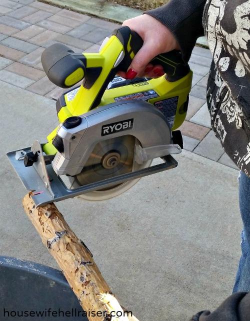 wood cutting ryobi