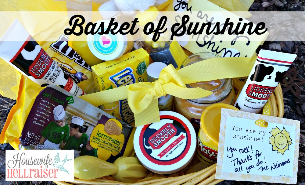 basket of sunshine labeled