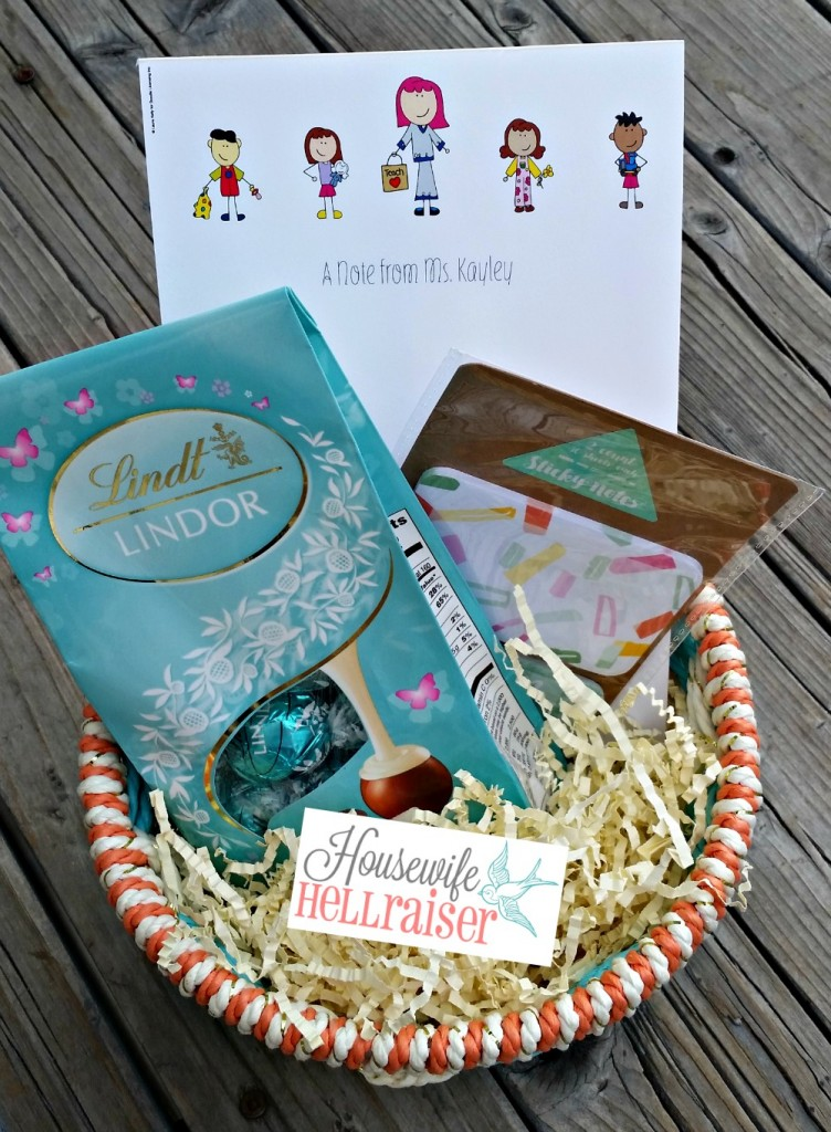 expressionery note pad basket