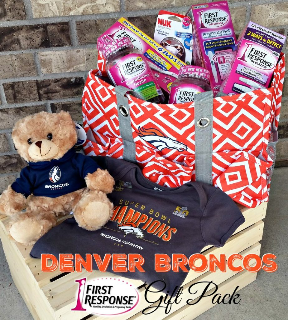 Denver Broncos Baby Gift Pack from First Response™