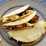 Potato Chorizo Breakfast Tacos