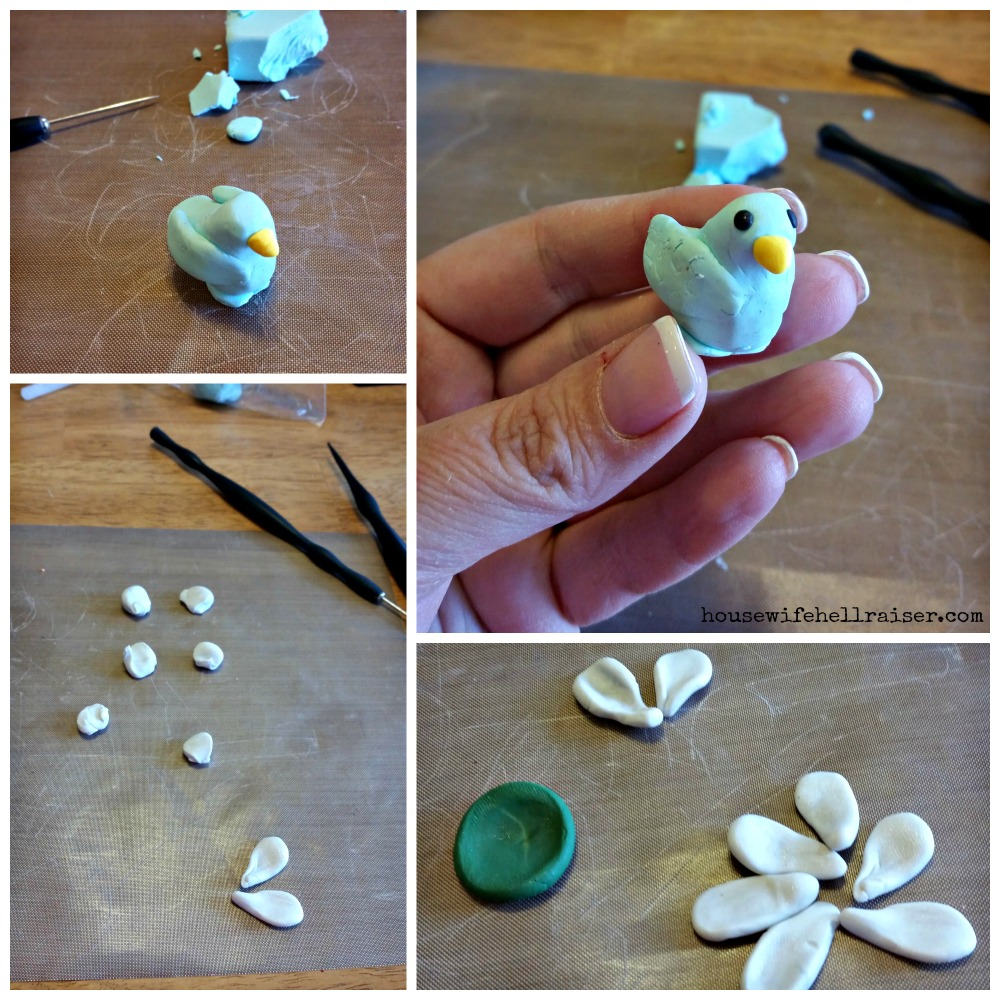 sculpey birds