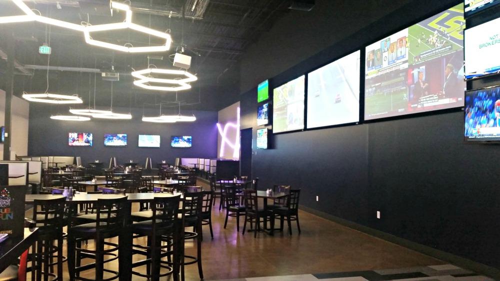 gameworks restaurant