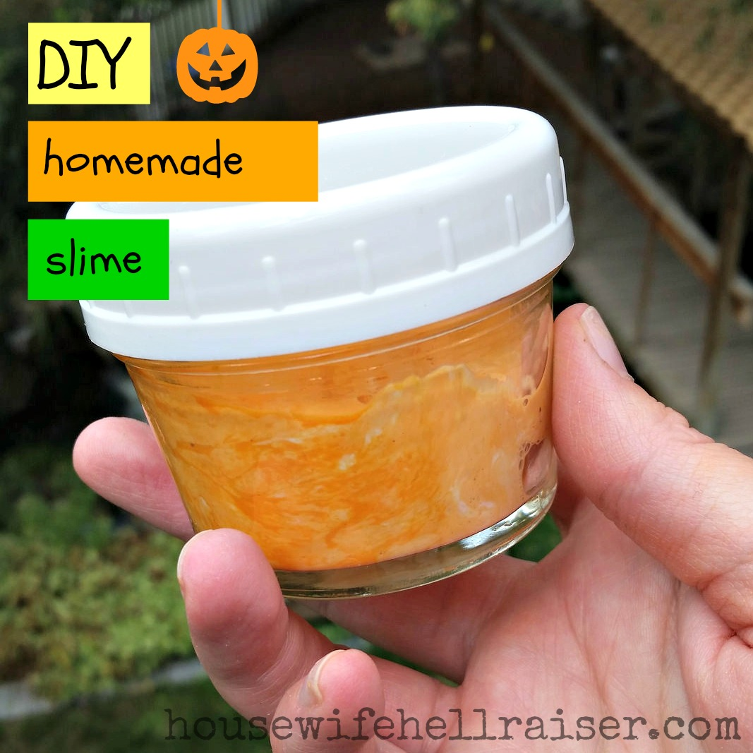 diy homemade slime recipe