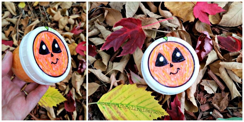 diy pumpkin slime