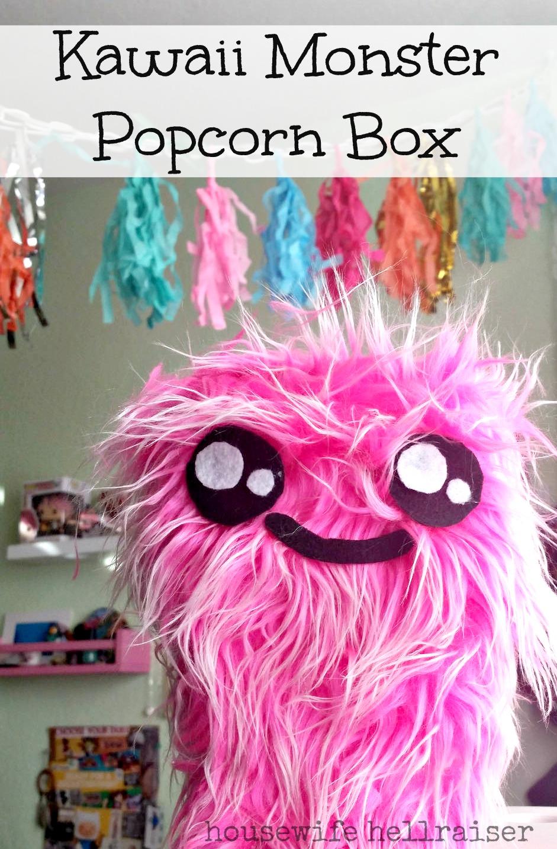 kawaii-monster-popcorn-box
