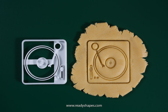 Readyshape DJ Turntable Cookie Cutter