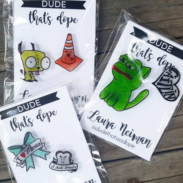 Need custom pins? Hit me up! These were a specialhellip