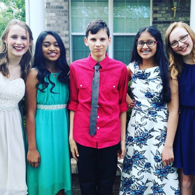 8th grade formal was last night My kids are growinghellip