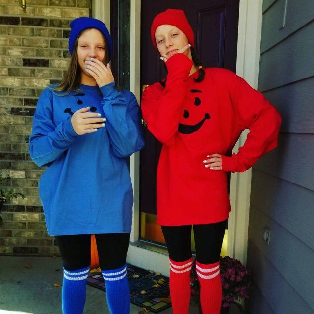 OH YEAHHHHHH Homemade costumes 4 lyfe koolaidman heykoolaid twincostumes groupcostumeshellip