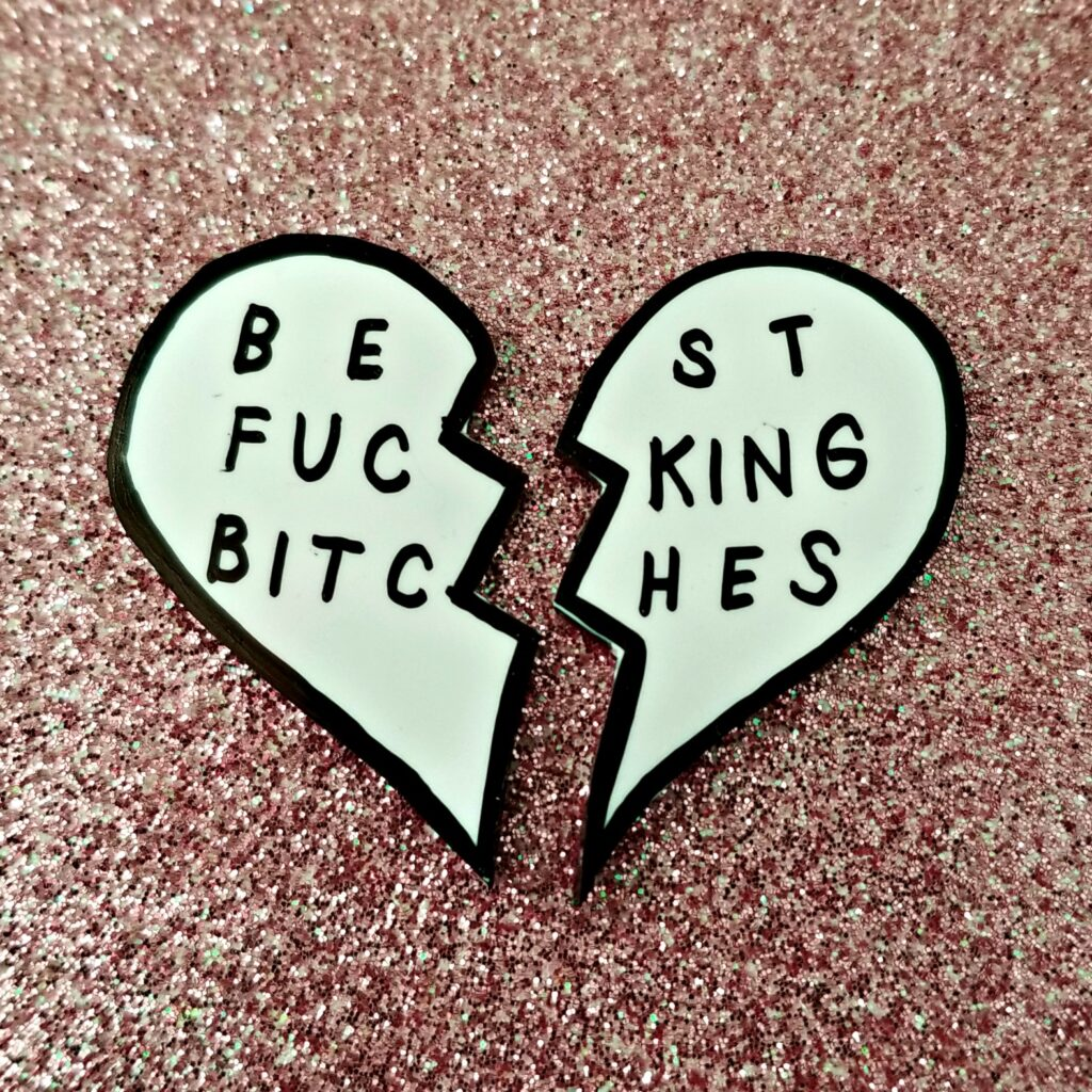 BEST BITCHES pins