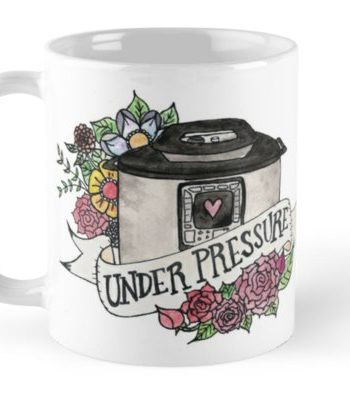 Pressure Cooker Instant Pot Tattoo Style Art MUG!