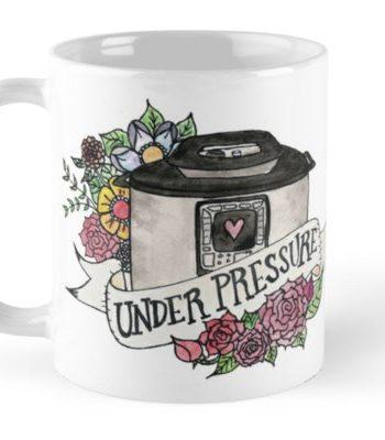 Pressure Cooker Instant Pot Tattoo Style Art MUG!