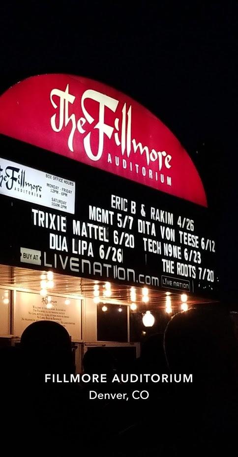 Eric B & Rakim Show!