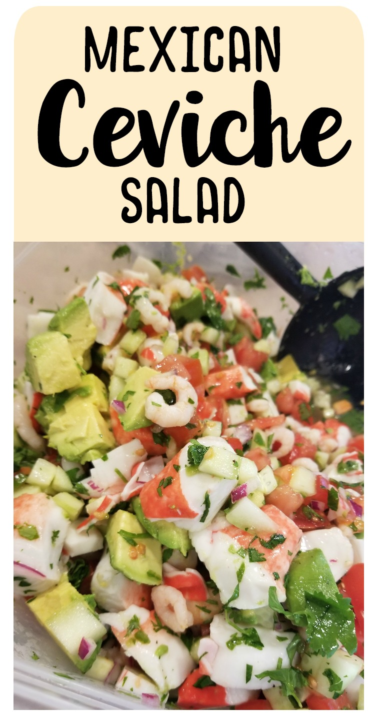 Mexican Ceviche Salad Recipe