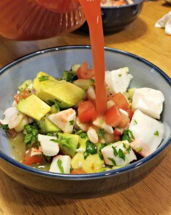 Mexican Ceviche Salad