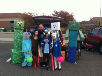minecraft trunk or treat