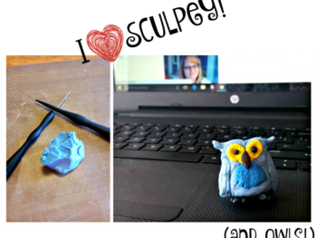 I heart Sculpey and owls