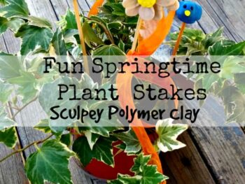 Sculpey Plant Stakes