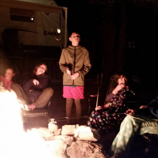 Marshmallows and ghost stories and Yo Mama jokes! thiscampfireislit getithellip